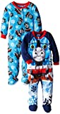 AME Sleepwear Little Thomas the Tank Engine Winter Trains Footed Blanket Sleeper