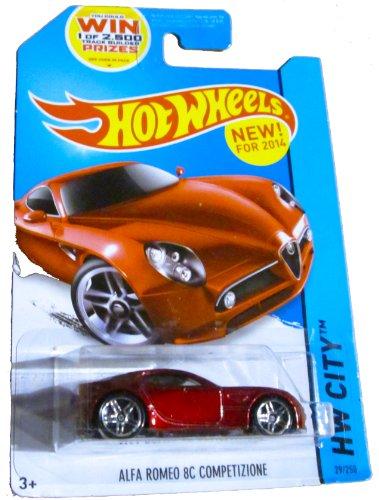 Hot Wheels HW City - 29/250 - Alfa Romeo 8C Comptetizione - 1