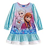 Disney Frozen Long Sleeve Nightgown - Toddler