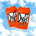 Duff Beer 4 x 330ml Can Pack