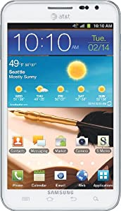 Samsung Galaxy Note 4G Android Phone, Ceramic White (AT&T)