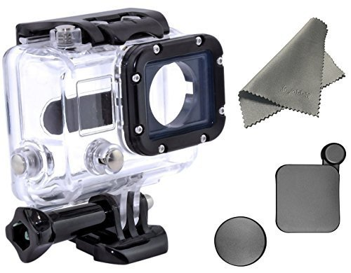 Joyoldelf-Underwater-Waterproof-Protective-Housing-Case-compatible-with-all-GoPro-Hero4-Hero3-Hero3-cameras