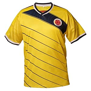 Buy COLOMBIA 2014 SOCCER JERSEY by FLAGSANDSOUVENIRS