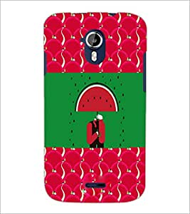 PrintDhaba Funny Image D-3770 Back Case Cover for MICROMAX A116 CANVAS HD (Multi-Coloured)