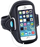 Armband for iPhone 5s, iPhone 5 and iPhone 5c; Also fits iPod touch 5G