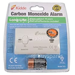 Portable & Compact Battery Operated Carbon Monoxide (co) Travel Alarm - Ce, En & British Standard Approved from G4T