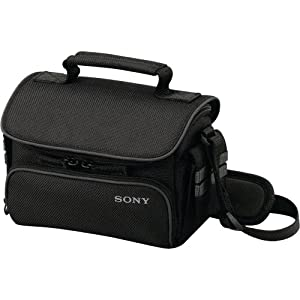 Sony LCS-U10 Soft Carrying Case for Camcorder - Black