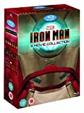The Complete Iron Man Movie (3 Disc) Blu Ray Collection Box set: Part 1, 2, and 3 + Extras