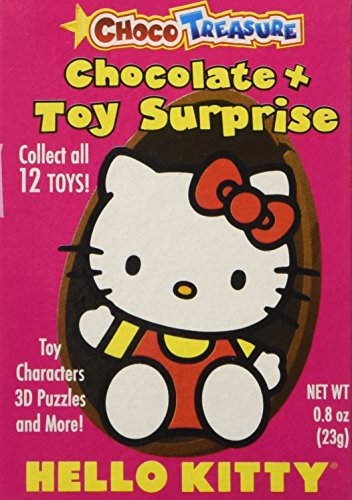 Hello Kitty Milk Chocolate Eggs  Toy Surprise!,