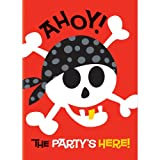 Pirate Party Invitations, 8ct