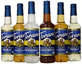 Torani Sugar Free Syrup Holiday Variety Pack, 25.4 Ounce (Pack of 6)