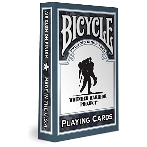 Bicycle Wounded Warrior Playing Cards - 1
