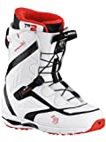 Northwave Men's Legend Superlace Snowboard Boot - White, 8.5 UK