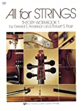 84VN - All For Strings Theory Book 1: Violin (0849732468) by Robert Frost