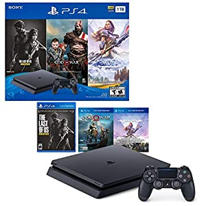 PlayStation 4 Slim 1TB Console - Only On PlayStation Bundle