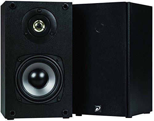 Dayton Audio B452 4 1 2 Way Bookshelf Speaker Pair Black