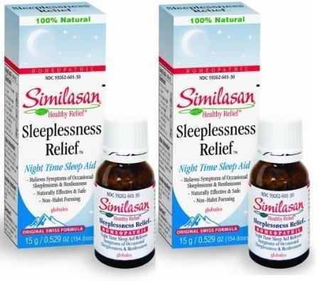 Similasan sleeplessness relief globules night time sleep aid 154