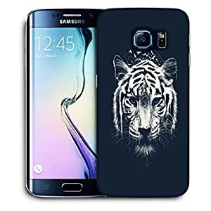 Snoogg Abstract Tiger Designer Protective Back Case Cover For SAMSUNG GALAXY S6 EDGE