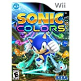 Sonic Colors - Nintendo Wii ~ Sega Of America, Inc.