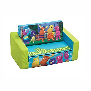 The Backyardigans Flip Open Sofa Couch from Spin Master