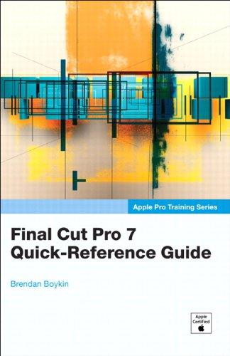 Apple Pro Training Series: Final Cut Pro 7...