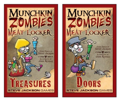 Munchkin Zombies Meat Lockers Card Game
