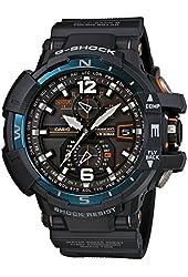 G-Shock GWA-1100-2A Gravity Master Stylish Watch - Dark Blue/Orange / One Size