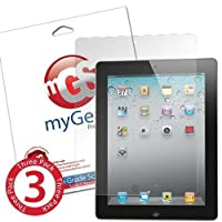 myGear Products RashGuard Screen Protector Film for iPad 2 - (3 Pack) Anti-Fingerprint