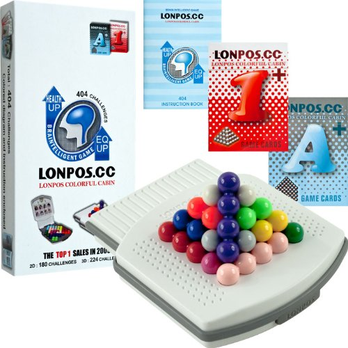 LONPOS 404 Brain Intelligence Puzzle Game LONPOS 404 Brain Intelligence Puzzle Game