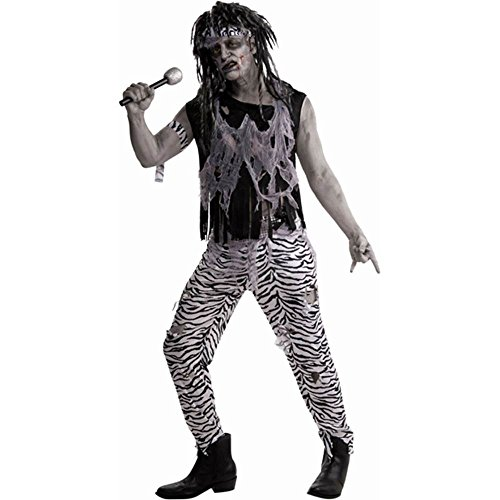 Zombie Rock Star Adult Costume - Standard