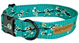 "eco-Lucks Dog Collar, Hong Kong Sea, Medium 12"" x 20"""