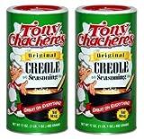 Tony Chacheres Original Creole Seasoning, 17 oz (Pack of 2)