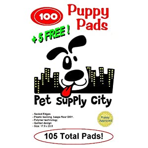 105pk of Doggy Housebreaking Pads