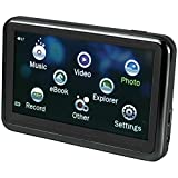"""Bush-Sylvania 3.6"""" Touch Screen Video MP3/MP4/MP5 Player with Expandable Memory, Black"""