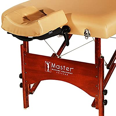 Master Massage Deauville Salon Portable Massage Table Package, 30 Inch, Liftback