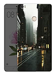"Rainy City Printed Designer Mobile Back Cover For ""Xiaomi Redmi Max"" (3D, Matte, Premium Quality Snap On Case)"