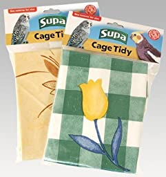 Supa Cage Tidies Bird Cage Floor Cover Standard