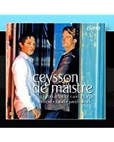 Ceysson / De Maistre: Concertos For 1 & 2 Harps