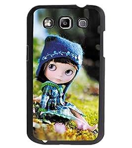ColourCraft Cute Doll Design Back Case Cover for SAMSUNG GALAXY GRAND QUATTRO I8552 / WIN I8550