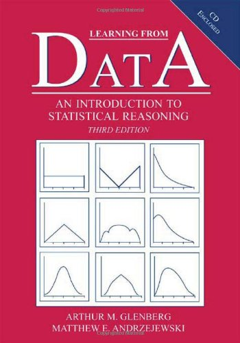 Learning From Data: An Introduction To Statistical Reasoning