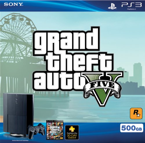 PS3 500 GB Grand Theft Auto V Bundle