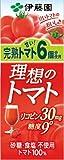 伊藤園 理想のトマト (紙パック) 200ml×24本