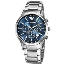 Big Sale Emporio Armani Men's AR2448 Classic Blue Dial Chronograph Watch