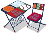 Sports Kids Activity Desk and Chair Set