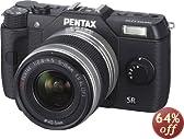 PENTAX ミラーレス一眼 Q10 ズームレンズキット [標準ズーム 02 STANDARD ZOOM] ブラック Q10 LENSKIT BLACK 12129