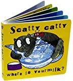 Jellycat Board Books, Scatty Catty