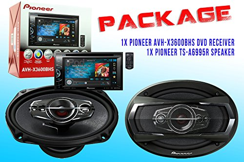 Package ! Pioneer Avh-X3600Bhs Dvd Receiver + Pioneer Ts-A6995R Car Speakers