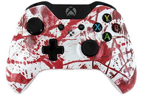 """Blood Splatter Ultimate"" Xbox One Custom Modded Controller"