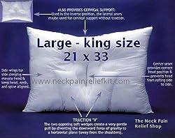 Arc4life Cervical Traction Neck Pillow- Large