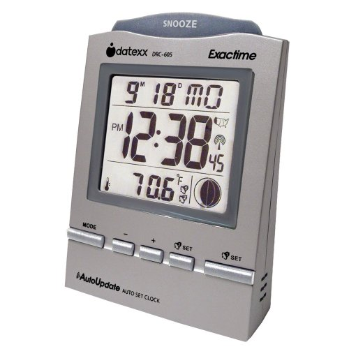 Datexx Radio Control Alarm Clock with...